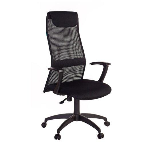 Компьютерное кресло Бюрократ KB-8N для руководителя, обивка: текстиль, цвет: черный