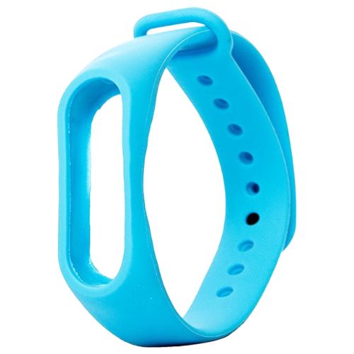 Activ Ремешок силиконовый для Xiaomi Mi Band 2 голубой