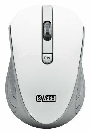 Мышь Sweex MI483 Wireless Mouse White USB