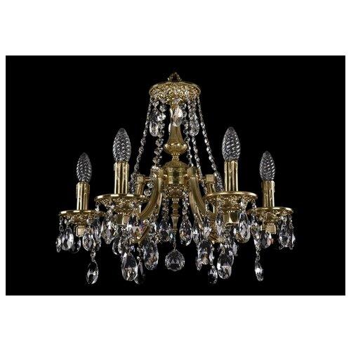 Фото - Люстра Bohemia Ivele Crystal 1771/6/150/A/G, 240 Вт люстра bohemia ivele 1771 6 150 a g