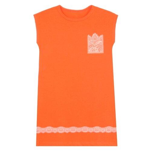 Купить Сорочка Апрель размер 116-60, оранжевый9+персик, Домашняя одежда