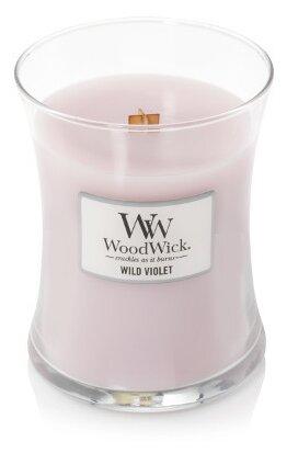 Свеча WoodWick Wild Violet (92028), средняя