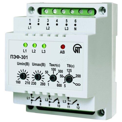Реле контроля напряжения Новатек-Электро ПЭФ-301