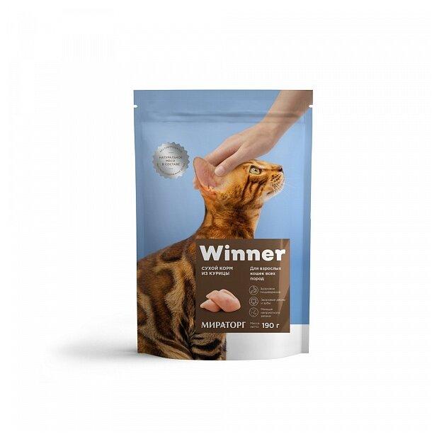 Корм для кошек Winner с курицей купить по цене 102 на Яндекс.Маркете