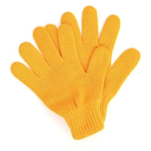 Купить Перчатки Button Blue размер 18, желтый, Перчатки и варежки