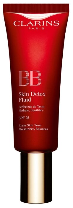 Clarins BB флюид Skin Detox SPF 25, 45 мл