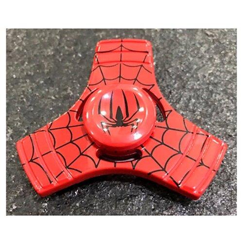 Спиннер Человек-Паук красный