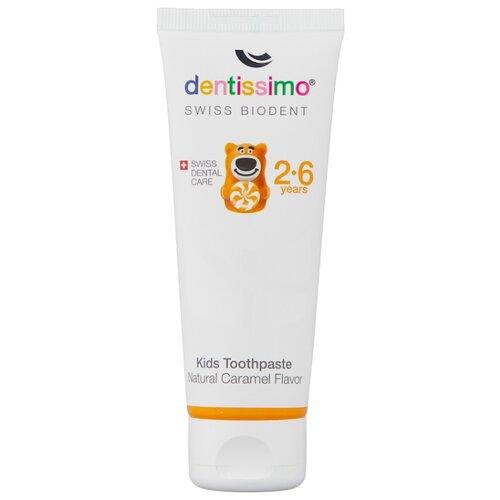Купить Зубная паста Dentissimo Kids Caramel 2-6 лет, 50 мл, Гигиена полости рта