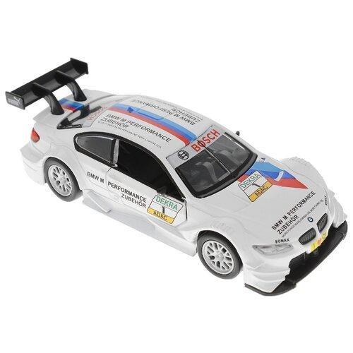 Легковой автомобиль Пламенный мотор BMW M3 DTM (870227) 11 см белый, Машинки и техника  - купить со скидкой