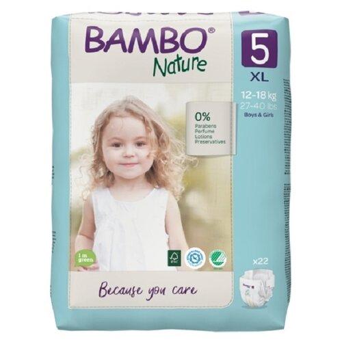 Купить BAMBO подгузники Nature 5 (12-18 кг) 22 шт., Подгузники