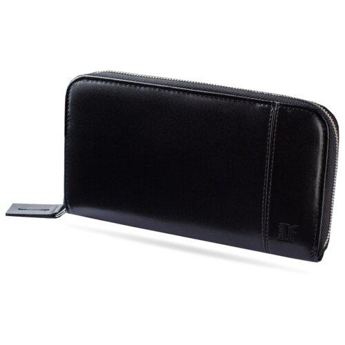 Портмоне Dimanche Classic 294, натуральная кожа черный рюкзак dimanche dimanche di042bwbzyt0