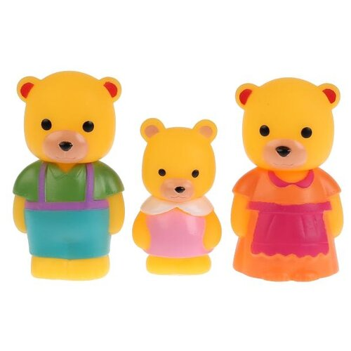 Купить Игровой набор Играем вместе Добрые игрушки - Семья медведей B1601692-R2, Игровые наборы и фигурки