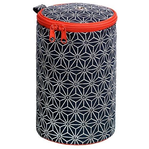 Купить Prym Футляр для пряжи Kyoto (612035) темно-синий/белый/красный, Инструменты и аксессуары