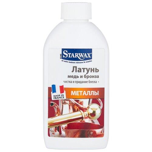 Жидкость Starwax Латунь, медь, бронза – чистка и придание блеска, 0.25 л