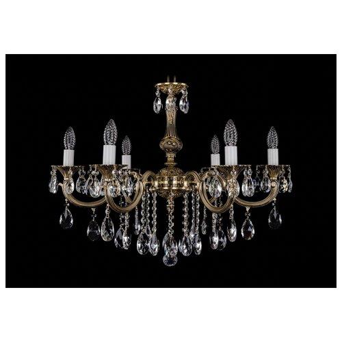 Люстра Bohemia Ivele Crystal 1702 1702/6/250/B/GB, E14, 240 Вт часы 14 6 см crystal bohemia