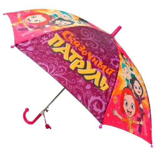Зонт Играем вместе розовый/фиолетовый/желтый