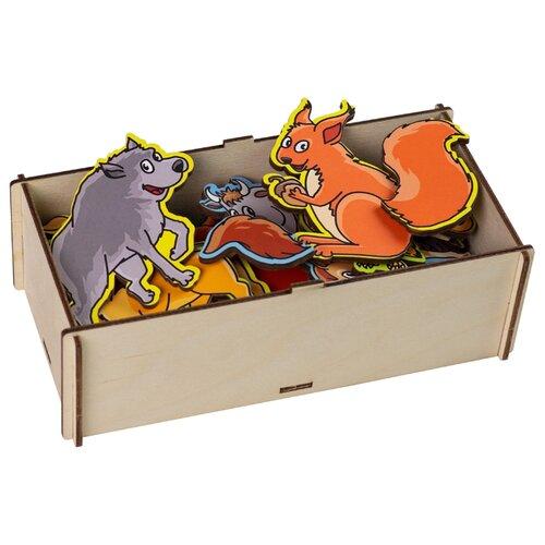 Фото - Настольная игра PAREMO Чей хвост деревянные игрушки paremo игровой набор чей хвост