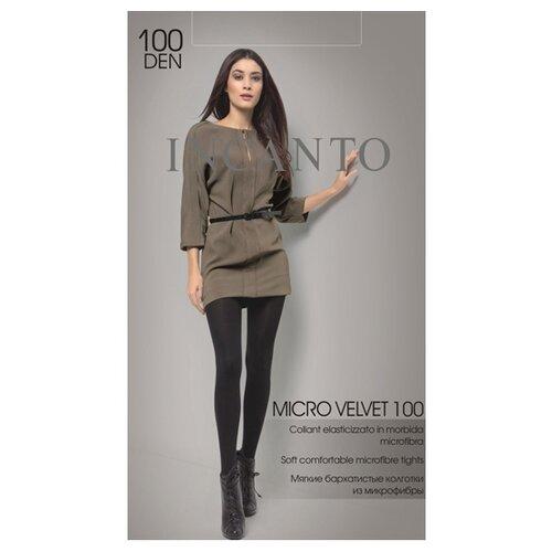 Колготки Incanto Micro Velvet 100 den, размер 4, nero