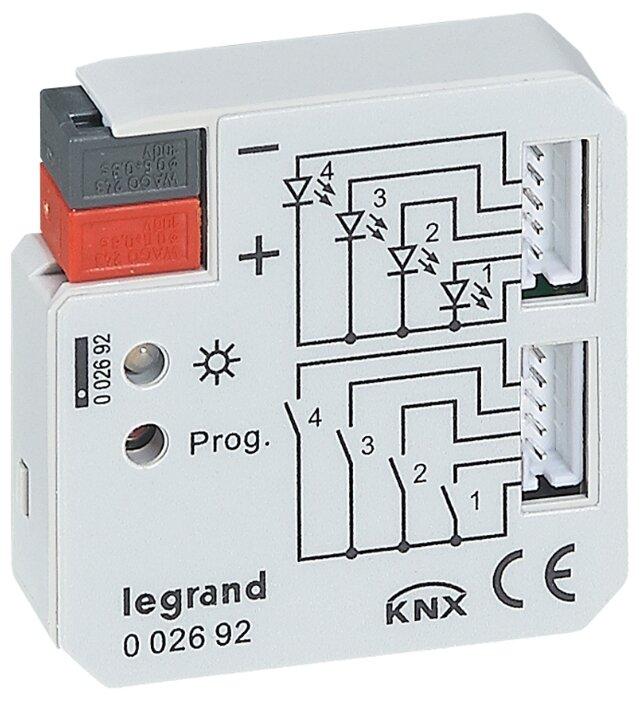 Аналоговый вход системной шины Legrand 002692