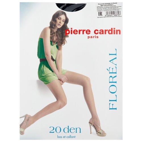 Колготки Pierre Cardin Floreal, Basic Line 20 den, размер IV-L, nero (черный) чулки pierre cardin la rochelle basic line 20 den размер iv l nero