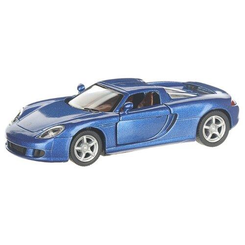 Купить Детская инерционная металлическая машинка с открывающимися дверями, модель Porsche Carrera GT, синий, Serinity Toys, Машинки и техника