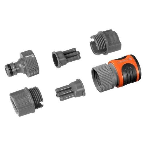 Комплект для подсоединения шланга-дождевателя (5316-20) GARDENA garden water connector gardena 5316 20