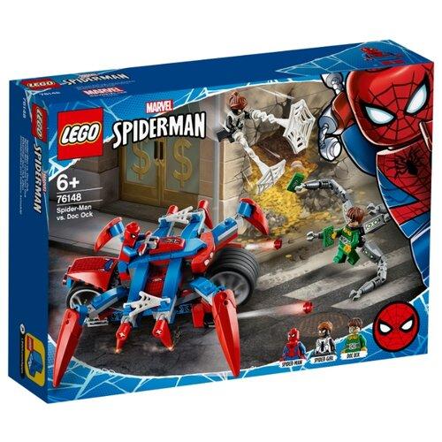 Конструктор LEGO Marvel Super Heroes 76148 Человек-Паук против Доктора Осьминога конструктор lego super heroes mighty micros 76070 чудо женщина против думсдэя