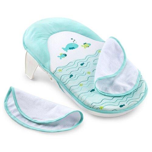 Купить Горка для купания Summer Infant Folding Bath Sling голубой, Сиденья, подставки, горки