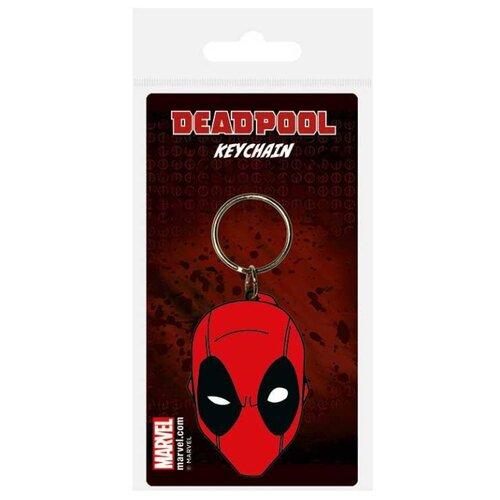 брелок deadpool head 3d Брелок Deadpool Face