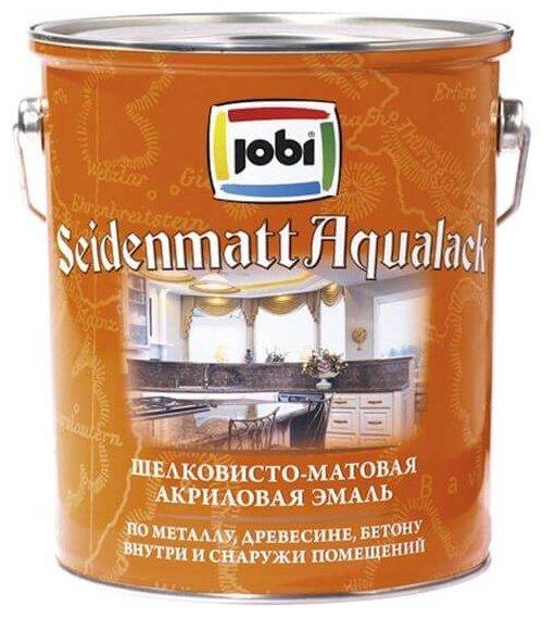 Эмаль акриловая (АК) Jobi Seidenmatt aqualack