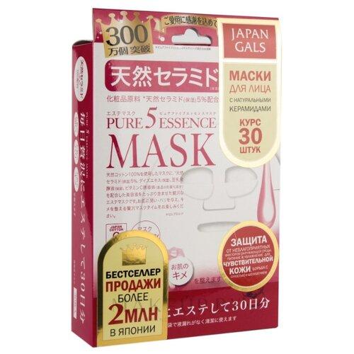 delicato japan supplyment 30 days 60 capsule japan Japan Gals маска Pure 5 Essence с натуральными керамидами, 30 шт.