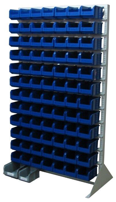 Стеллаж 12 полок Стелла В1-00-12-00 115х33х200 см