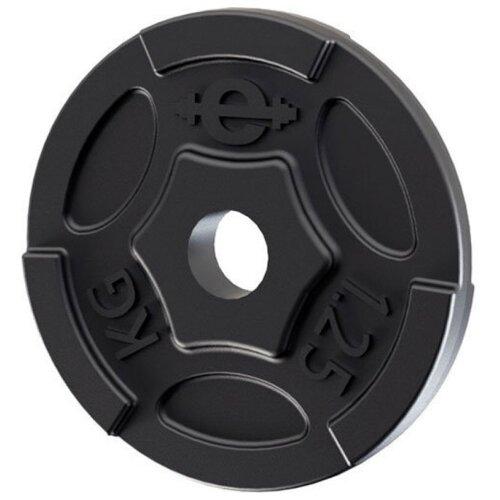 Диск Euro classic чугунный окрашенный d-26 мм 1.25 кг черный