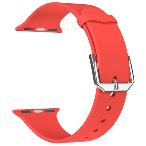 Фото - Lyambda Силиконовый ремешок Alcor для Apple Watch 38/40 mm red lyambda силиконовый ремешок alcor для apple watch 42 44 mm green