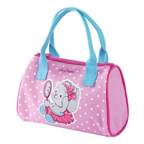 Фото - Сумка бочонок Mary Poppins, пластик, розовый/голубой сумка бочонок mary poppins зайка 530035 пластик розовый голубой