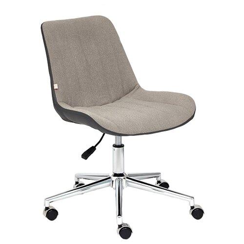Компьютерное кресло TetChair Style офисное, обивка: текстиль/искусственная кожа, цвет: серый/металлик 36 кресло офисное tetchair leader 207 серый