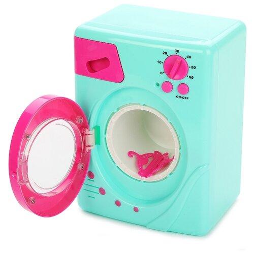 Купить Стиральная машина Mary Poppins Умный дом 453114 бирюзовый/розовый, Детские кухни и бытовая техника