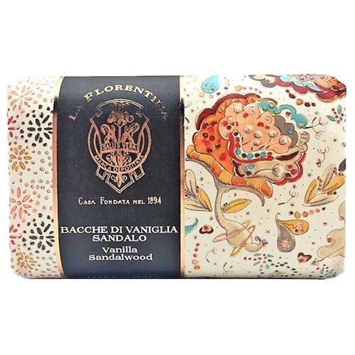 Купить Мыло кусковое La Florentina Giardino Segreto Vanille & Sandal wood, 270 г