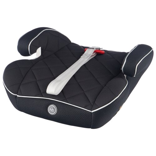 цена на Бустер группа 2/3 (15-36 кг) Happy Baby Booster Rider, silver