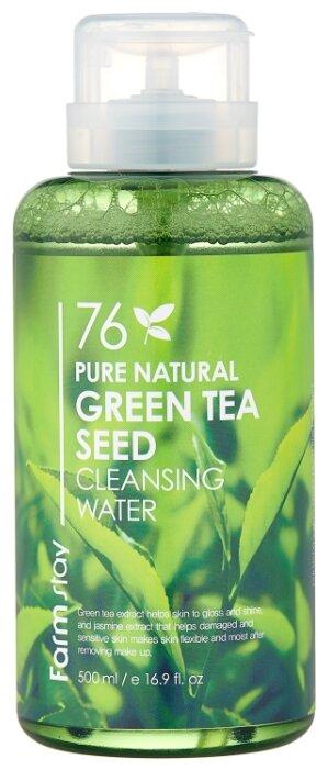 Farmstay вода очищающая с экстрактом зеленого чая