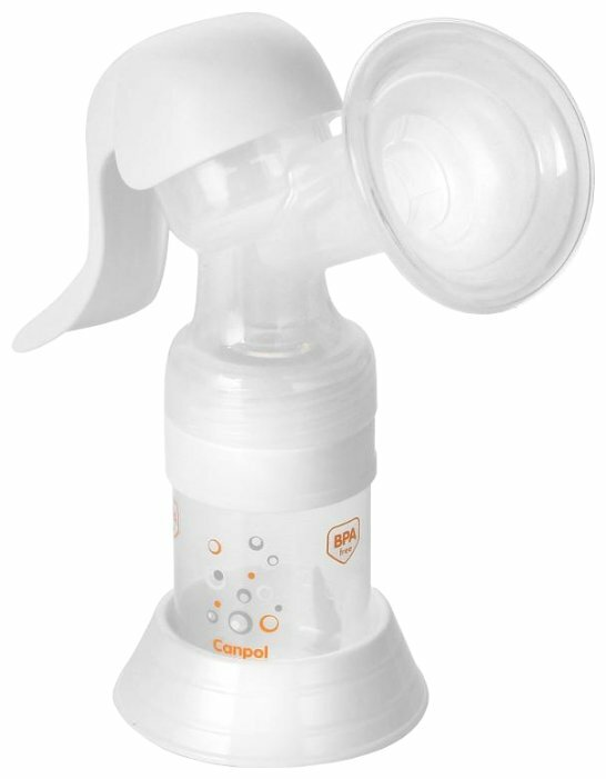 Ручной молокоотсос Canpol Babies Basic 12/205