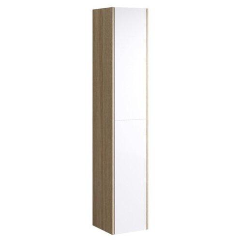 Шкаф-пенал для ванной Aqwella Miami Mai.05.03, (ШхГхВ): 30х30х159 см, белый/дуб сонома шкаф пенал aqwella лайн 50 li 05 05 1 белый