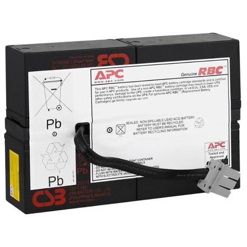 Фото - Аккумуляторная батарея APC by Schneider Electric RBC59 7 А·ч аккумуляторная батарея apc by schneider electric smx120rmbp2u 1200 а·ч