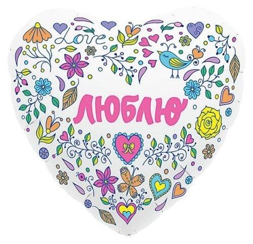 Воздушный шар MILAND Agura Сердце Признание в любви