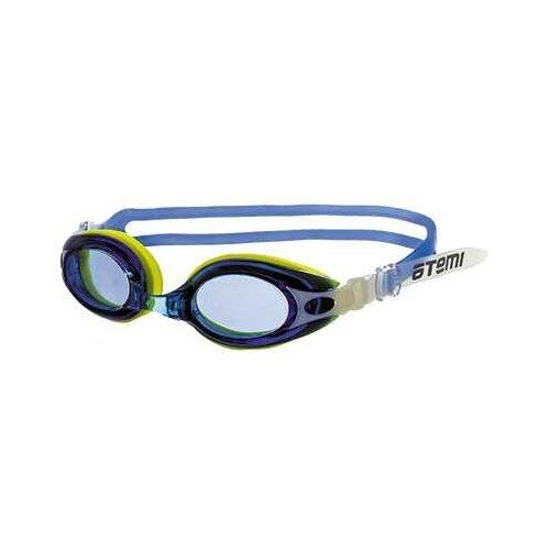 Фото - Очки для плавания ATEMI M503/501/504 синий/желтый очки маска для плавания atemi z401 z402 синий серый