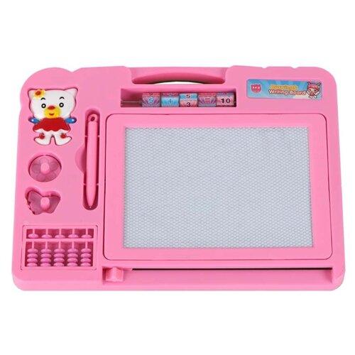 Купить Доска для рисования детская Джамбо Тойз JB1000118 розовый, Доски и мольберты