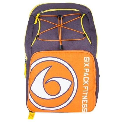 Six Pack Fitness Рюкзак Pursuit Backpack 300 фиолетовый/оранжевый/желтый 35 л