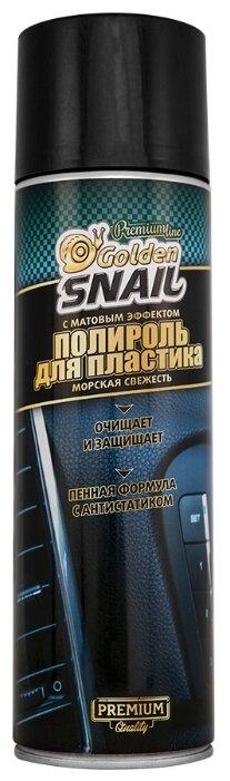 Golden Snail Полироль для пластика салона автомобиля Морская свежесть GS8002, 0.65 л