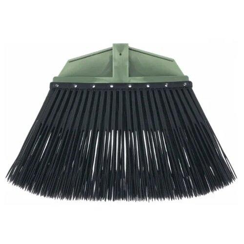 Метла Сибртех веерная распушенная (63221), зеленый/черный метла веерная 39220 z01