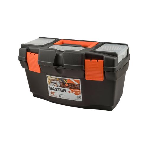 Ящик с органайзером BLOCKER Master BR6004 40.8x21.8x22.3 см 16'' черный/оранжевый